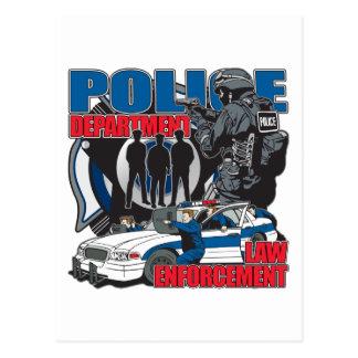 Cartão Postal Departamento da polícia