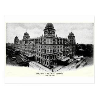 Cartão Postal Depósito 1898 central grande