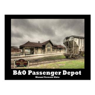 Cartão Postal Depósito de NA121.B&O