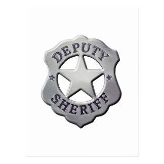 Cartão Postal Deputado xerife