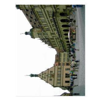 Cartão Postal Der Tauber Brego Aragon do ob de Rothenburg? s