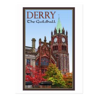 Cartão Postal Derry - a capela