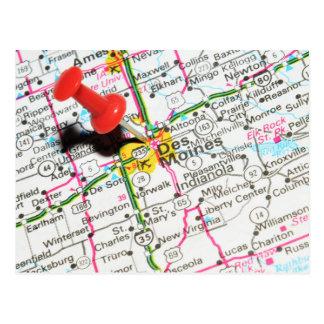 Cartão Postal Des Moines, Iowa