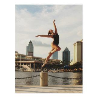 Cartão Postal Desafio a dançar