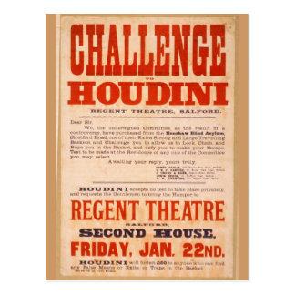 Cartão Postal Desafio Houdini