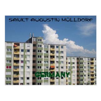 """Cartão postal """"Descendestes Augustin aldeia de"""