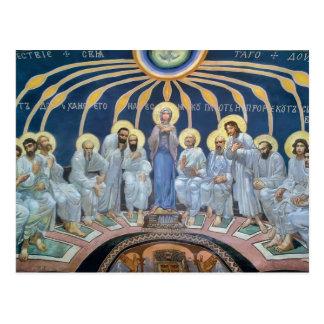 Cartão Postal Descida de Mikhail Vrubel- do Espírito Santo em
