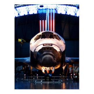 Cartão Postal Descoberta do vaivém espacial