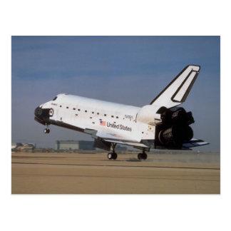 Cartão Postal Descoberta do vaivém espacial, deserto de Mojave,
