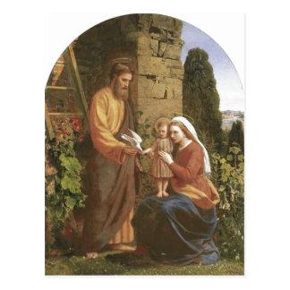 Cartão Postal Descrição James Collinson, família santamente