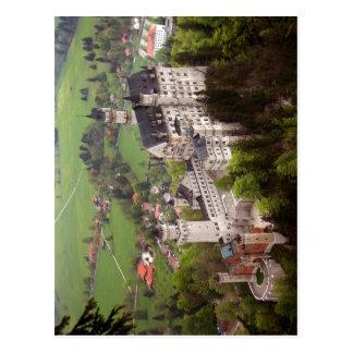 Cartão Postal Descrição o castelo de Neuschwanstein. Autor da