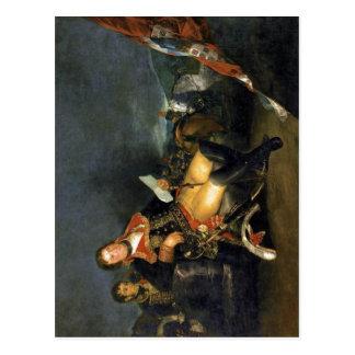 Cartão Postal Descrição sumária Manuel Godoy, duque de Alcudia,