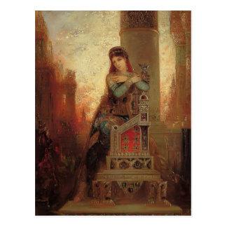 Cartão Postal Desdemona por Frederic Leighton