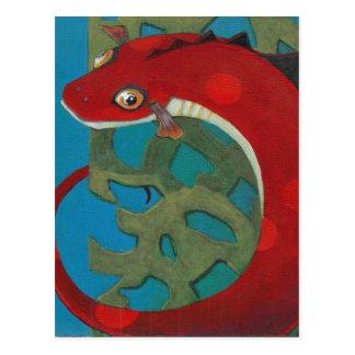 Cartão Postal Deseje o dragão