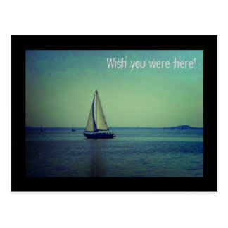 Cartão Postal Desejo você estava aqui!
