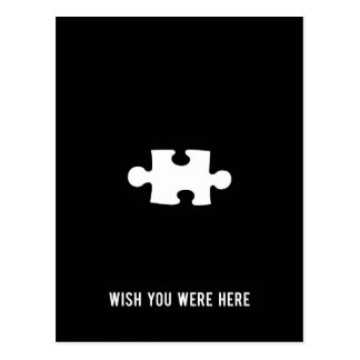 Cartão Postal Desejo você estava aqui