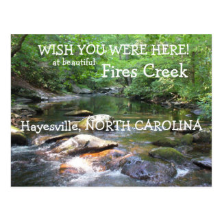 Cartão Postal Desejo você estava aqui na angra dos fogos