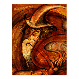 Cartão Postal Desejos do feiticeiro