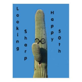 Cartão Postal Desejos engraçados do aniversário