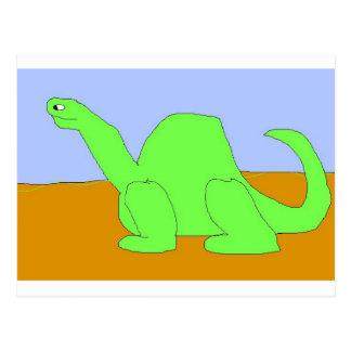 Cartão Postal Desenho do dinossauro