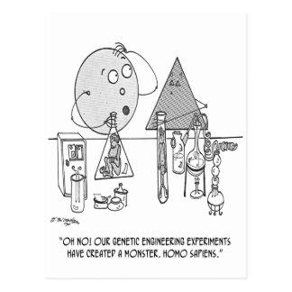 Cartão Postal Desenhos animados 0313 da genética