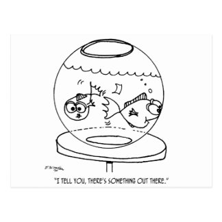 Cartão Postal Desenhos animados 4516 dos peixes