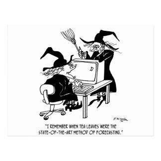 Cartão Postal Desenhos animados 4864 da bruxa