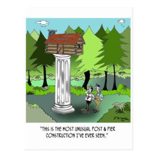 Cartão Postal Desenhos animados 6369 da construção