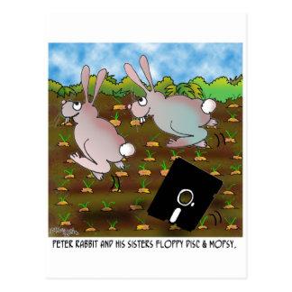 Cartão Postal Desenhos animados 8724 do coelho