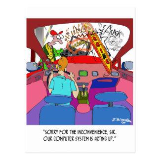 Cartão Postal Desenhos animados 8849 do estacionamento