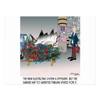 Cartão Postal Desenhos animados 8973 do estacionamento