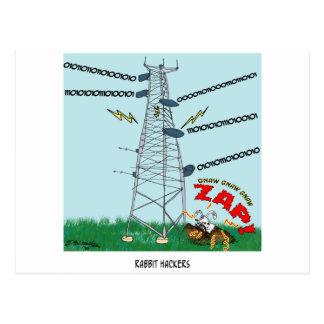 Cartão Postal Desenhos animados 9191 do coelho