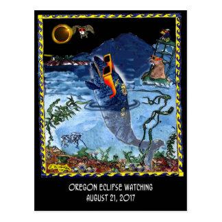 Cartão Postal Desenhos animados 9524 do eclipse
