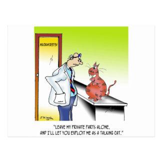 Cartão Postal Desenhos animados veterinários 9480
