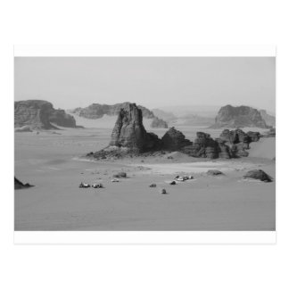 Cartão Postal Deserto de B&W Argélia