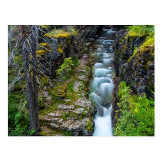 Cartão Postal Desfiladeiro de Sunrift no parque nacional de