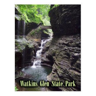 Cartão Postal Desfiladeiro no parque estadual do vale de