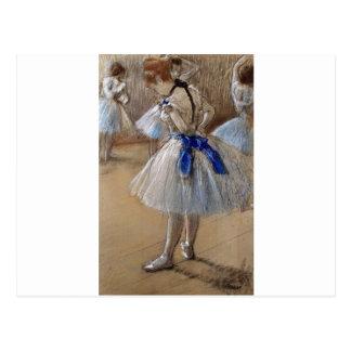 Cartão Postal desgaseifique a arte da bailarina