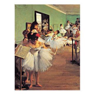 Cartão Postal Desgaseifique - a classe de dança