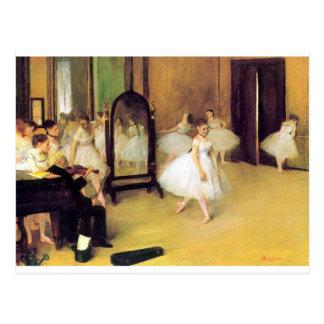 Cartão Postal Desgaseifique dançarinos de balé