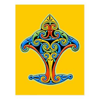 Cartão Postal Design celta