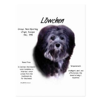 Cartão Postal Design da história de Löwchen