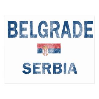 Cartão Postal Design de Belgrado Serbia