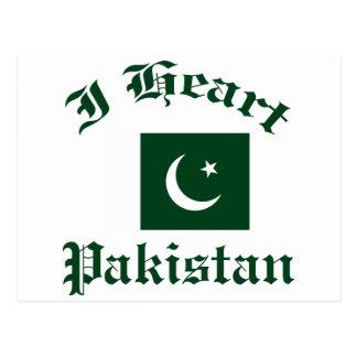 Cartão Postal Design de Paquistão