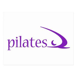 Cartão Postal Design de Pilates!