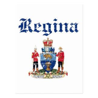 Cartão Postal design de Regina