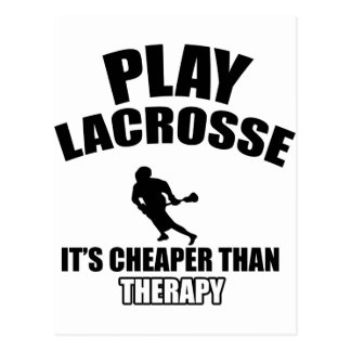 Cartão Postal Design do Lacrosse