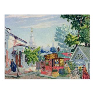 Cartão Postal Design do palco para o jogo do Ostrovsky