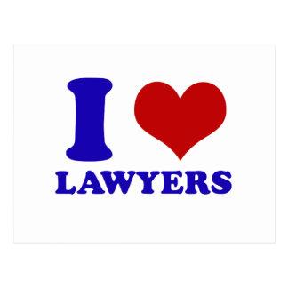 Cartão Postal Design dos advogados