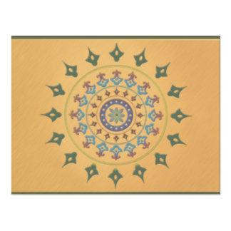 Cartão Postal Design inspirado por India